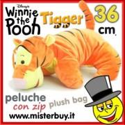 PELOUCHE 36 cm WINNIE the POOH TIGRO doppio uso