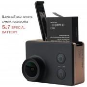 ER Original SJCAM Brand 3.8V 1000mAh Li-ion Battery Great Replacement Backup Power For SJCAM-SJ7-STAR Sport Camera-black