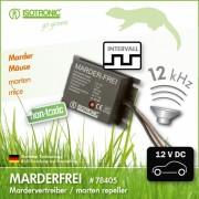 Aparat auto cu ultrasunete anti rozatoare Marder-Frei 78405