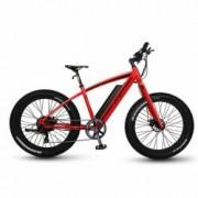 Bicicleta Pegas Fatbike Suprem Dinamic E-bike Rosu Mat