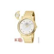 Relógio Champion Feminino Dourado Cn25252h