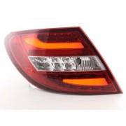 FK-Automotive fanali posteriori coppia di sedili LED Mercedes C-classe tipo W204 anno di costruzione 2011- rosso/chiaro