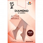 Sosete scurte Diamond Active - 2 perechi