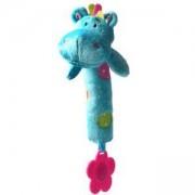 Бебешка плюшена гризалка - хипопотам, 998 Babyono, 9070025
