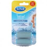 Scholl Velvet Smooth Capete de schimb pentru pila de unghii electrice rezistenta la apa pentru picioare 2 pc 2 buc