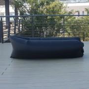 Saltea gonflabilă Lazy Bag, negru