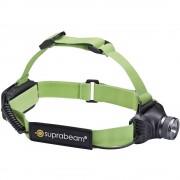 LED naglavna svjetiljka Suprabeam Q3 air na baterije 140 g crno-zelena 900.028