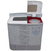 Lithara Washing Machine Cover For Intex WMS62TL Semi Automatic Top Load 6.2 Kg