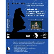 Romans Chess Labs: Vol. 54, Getting The Winning Edge In The Middle Game Capitalizing On Your Opponents Weakness Created In The Game Dvd
