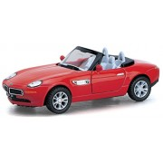 """Flying Toyszer 5"""" 1:36 Scale BMW Z8 Diecast Model Car Door Openable and Pull Back Action"""