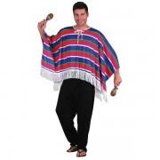 Mexican Poncho Maskeraddräkt