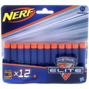 Nerf blaster Elite - 12 rezerve gloante burete