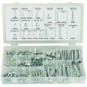 Repairs Work New 240 Pcs Nut and Bolt Assortment Kit Do It Your Selff