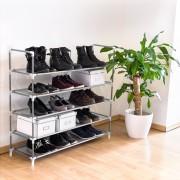 Suport pantofi pentru 25 perechi pantofi-gri