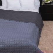 LAURA szürke ágytakaró 235x250 cm