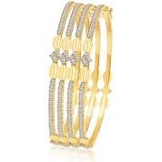 Sukkhi Blossomy Gold Plated AD Bangle For Women
