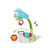 Móvil Musical De Cuna Fisher Price Chr11-Multicolor