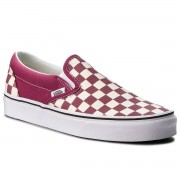 Vans Sneakers VANS - Classic Slip-On VN0A38F7U7A (Checkerboard) Dry Rose/W