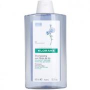 Klorane Flax Fiber champú para cabello fino y lacio 400 ml