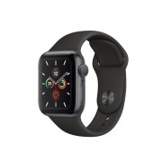 Умные часы Apple Watch Series 5 GPS 40mm Aluminum Case with Sport Band Black MWV82RU/A