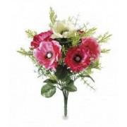 Buchet artificial anemone Pink
