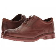 Rockport Total Motion Fusion Wing Tip New Caramel Leather