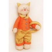 Набор для изготавления тестильной игрушки CATS STORY, 27 см