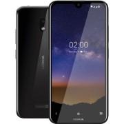 "Telefon Mobil Nokia 2.2, Procesor Quad-Core 2.0GHz, Ecran 5.71"", 2GB RAM, 16GB Flash, 13MP, Wi-Fi, 4G, Dual Sim, Android (Negru)"