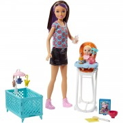 Barbie Skipper Babysitters Inc. Doll and Playset Sisters
