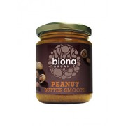 Unt de arahide smooth Biona fara sare bio, 250 g