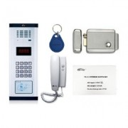 KIT INTERFON PENTRU 20 APARTAMENTE GENWAY KIT INTERFON ECONOMIC