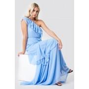 Trendyol One Shoulder Maxi Dress - Blue