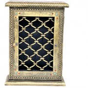 Beautiful Handcrafted Wooden And Iron Key Holder Box Home Decorative