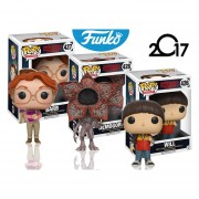 Set 3 Stranger Things Will Barb Demogorgon Funko Pop Serie