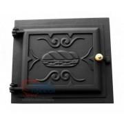 Porta de ferro pequena para forno