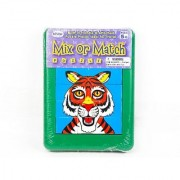 Popular Playthings Mix or Match Puzzle - Zoo Animals