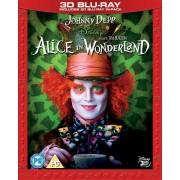 Disney Alice in Wonderland 3D (Incldues 2D Version)