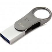 Silicon Power 32GB Mobile C80 USB 3.1 Pendrive - titán