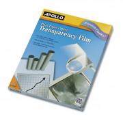 B/w Laser Transparency Film W/o Sensing Stripe, Letter, Clear, 100/box