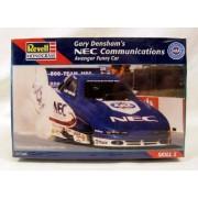 #7652 Revell /Monogram Gary Denshams Nec Communications Avenger Funny Car 1/24 Scale Plastic Model Kit
