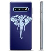 Samsung Galaxy S10 TPU Case - Olifant