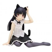 Sister there is no reason so cute black cat [Sitting Ver. (1/8 Scale PVC)