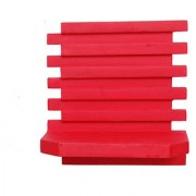 Onlineshoppee Beautiful Wooden Wall Rack Size (LxBxH-10x5x10) Inch Color-Red
