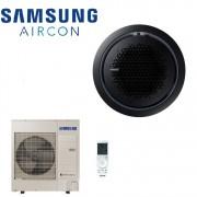 Samsung Climatizzatore Condizionatore Inverter Samsung Cassetta 360° 36000 Btu Ac100mn4pkh/eu 36000 Btu Con Comando Wireless Incluso 2018 - Pannello Circolare Nero