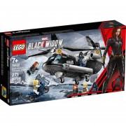 LEGO Marvel Vengadores 76162 Persecución en Helicóptero de Black Widow