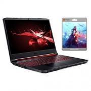 "Acer Nitro 5 Gaming Laptop, 15.6"" IPS Full HD, GTX 1650, Core i5-9300H up to 4.10 GHz, 8GB RAM, 128GB SSD+1TB HDD, Backlit, RJ-45 Ethernet, BT 5.0, USB-C, Win 10 w/Battlefield V"