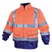 DELTA PLUS Veste de travail haute visibilité orange DELTAPLUS - Taille - L