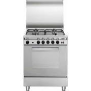 GLEM U65BIF3 LINEA UNICA cucina inox 60X50, forno multifunzione gas ventilato