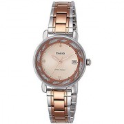 Casio Enticer Analog Rose Gold Dial Womens Watch - Ltp-E120Rg-9Adf (A1044)