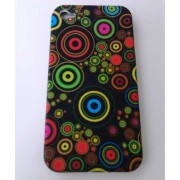 Силиконов калъф за Iphone 4/4s гръб Design